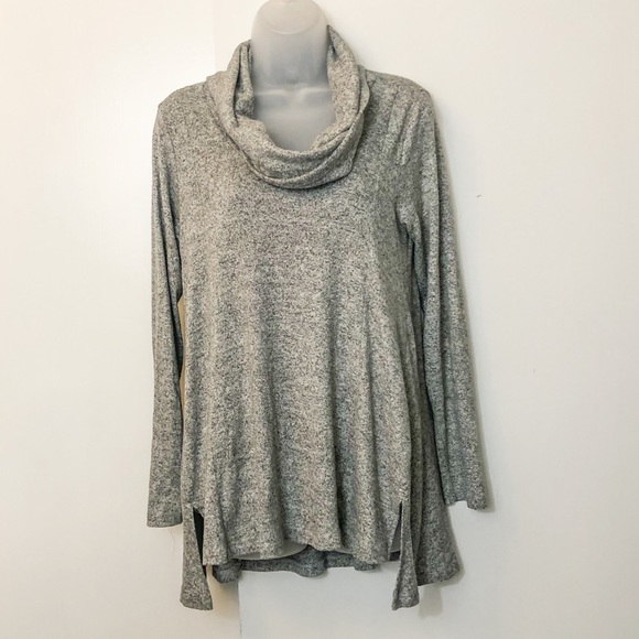 Staccato cowl neck sweater small